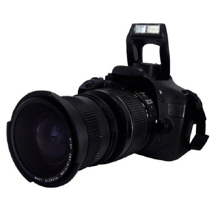 Lightdow 58mm 0 35X Fish Eye Super Wide Angle Fisheye Lens for Canon Nikon Sony DSLR