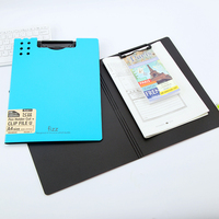 High Quality PP Exam Paper Promotional Material Business Document File Folder PP Clipboard Office Stationery