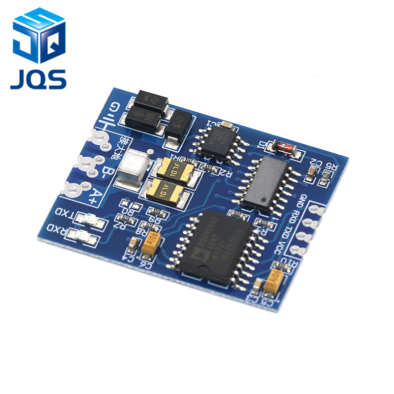 TTL to RS485 Module RS485 Signal Converter 3V 5.5V Isolated Single Chip Serial Port UART Industrial Grade ModuleTTL to RS485 Module RS485 Signal Converter 3V 5.5V Isolated Single Chip Serial Port UART Industrial Grade Module