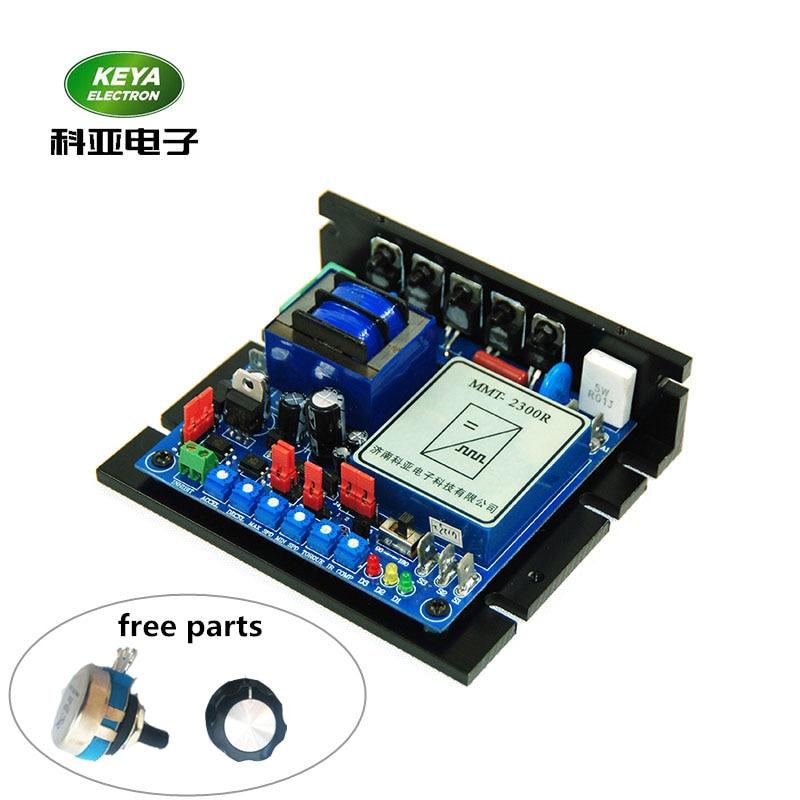 factory wholesales pm motor controller voltage adjustable 110v 220v ac input 90v 180v dc brushed motor