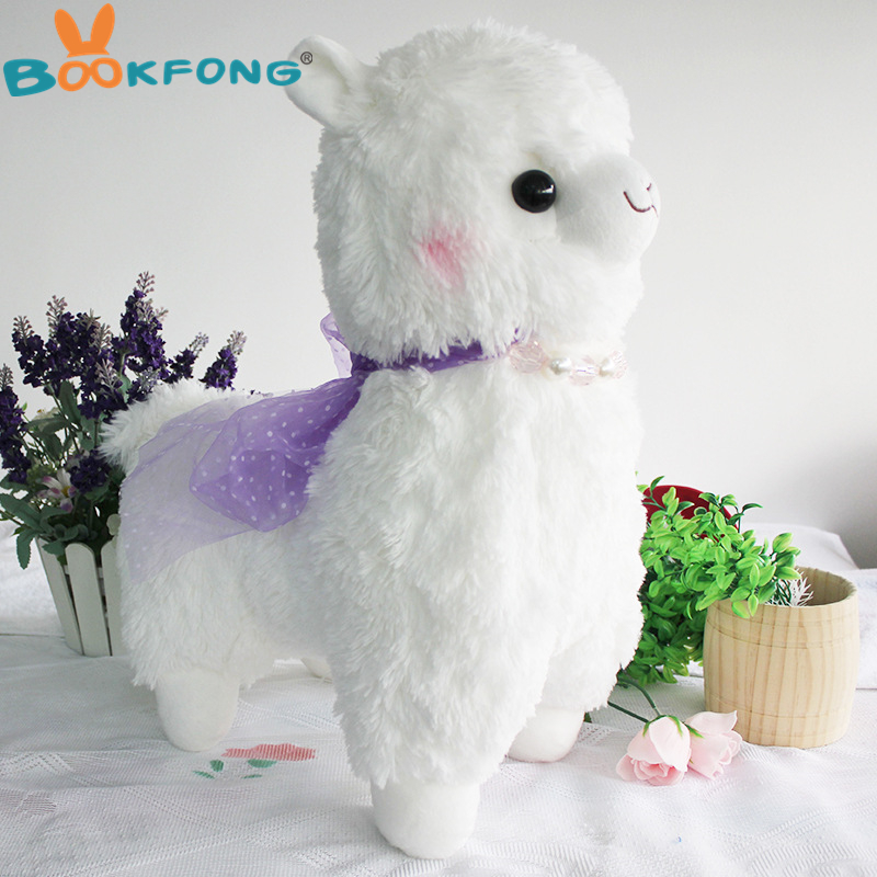 40cm New Peluche Alpacasso Alpaca Toys Soft Kawaii 4 Colour Sheep Stuffed Animal Japan Plush Baby Kids Gift Toys Christmas Gift big size 45cm japanese alpacasso soft toys doll kawaii sheep alpaca plush toys giant stuffed animals toy kids christmas gift
