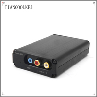 TIANCOOLKEI CM6631 Digital interface 32 / 24Bit 192K PC DAC Sound Card USB to I2S / SPDIF Coaxial Output HIFI Audio Decoder