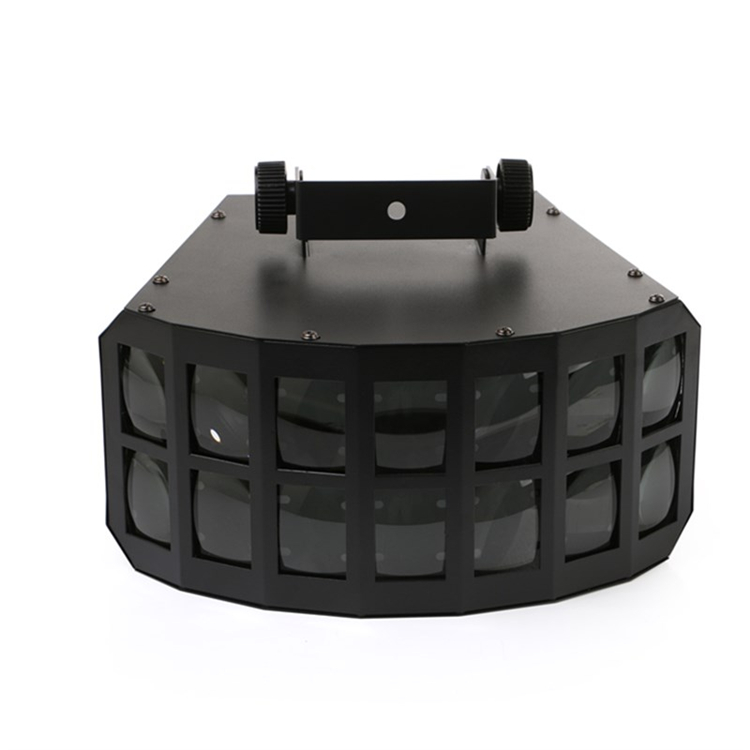 Hot sell LED disco double butterfly light for DJ Club Party led effect light DMX512 led Stage Lamp DJ Equipments disco lights|disco light|lampe dj|dj equipment - title=