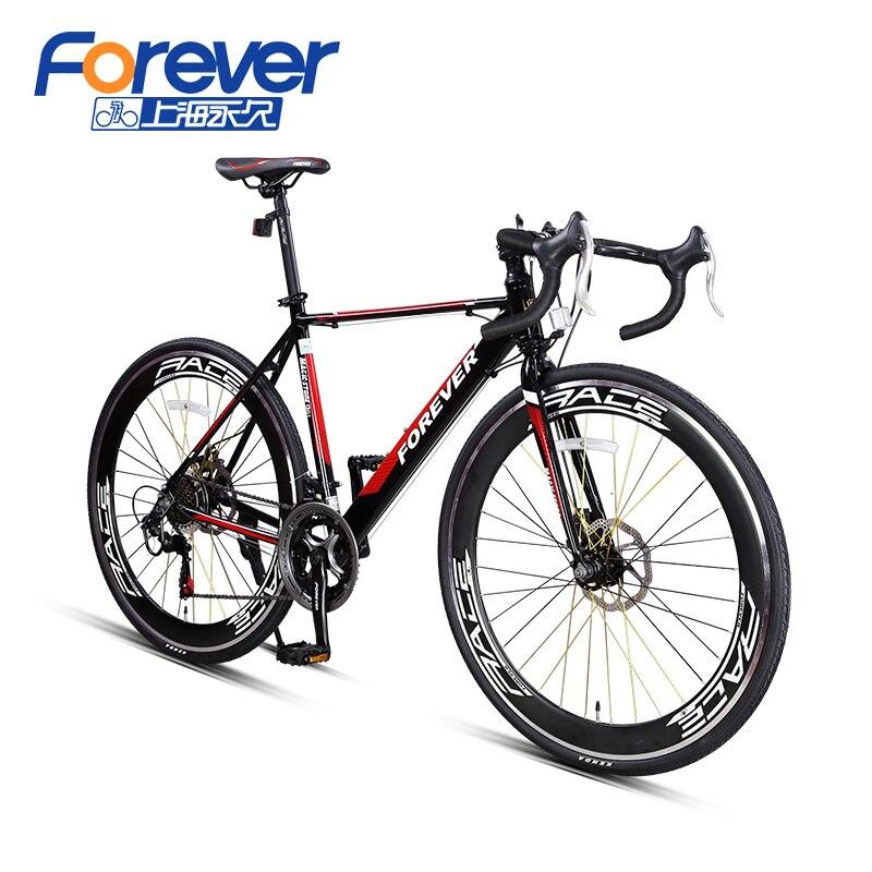 Forever road bike 14 font b speed b font aluminum frame font b bicycle b font