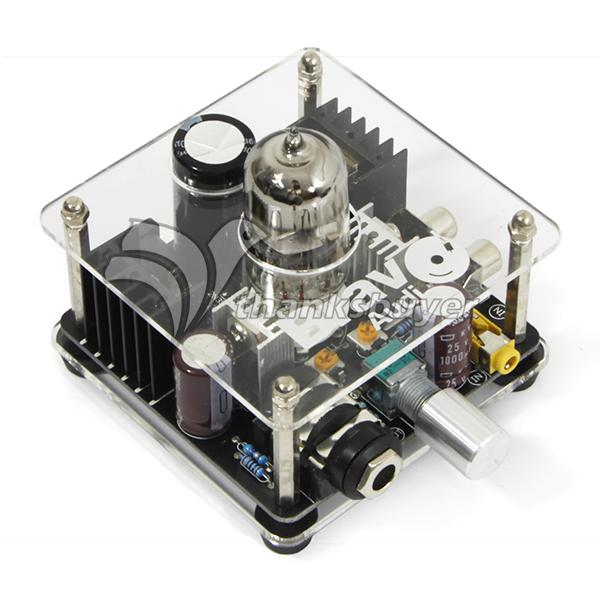 Bravo V1 Deluxe Tube Valve 6922 EH6922 Headphone Amplifier Pre Amp Class A appj pa1502a tube headphone amplifier