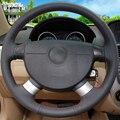 Блестящий чехол рулевого колеса автомобиля для шевролет Авео лова Buick Excelle Daewoo Gentra 2013-2015 Chevrolet lachetti 2006-2012