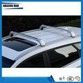 Высокое качество  2 шт.  алюминиевый сплав  багажник на крышу  перекладина  подходит для TUCSON 15 +  багажная переноска