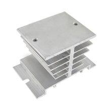 Baru aluminium Heat Sink untuk Relay Solid state, Ssr tipe kecil pembuangan panas