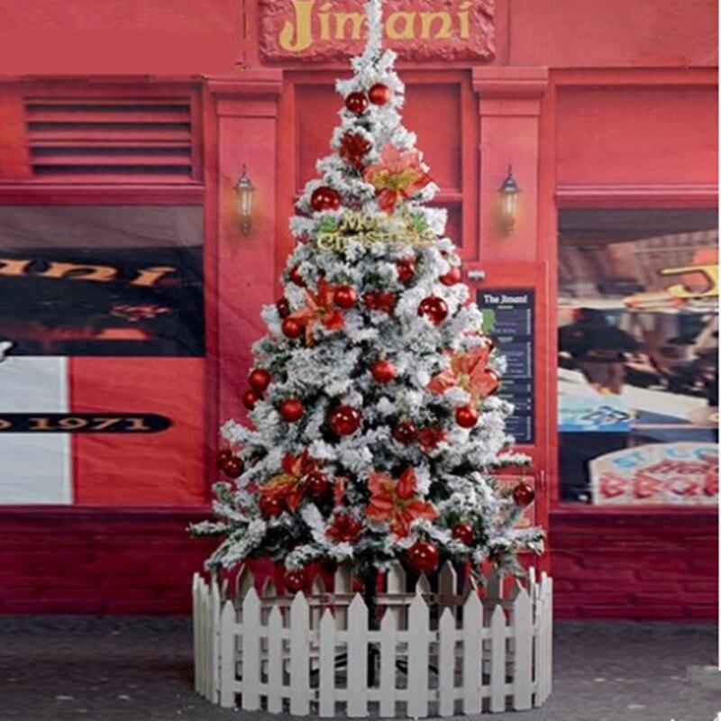 1.5 m/150 cm neige flocon de neige arbre de noël flocage pulvérisation neige arbre de noël décoration noël maison hôtel Arcade