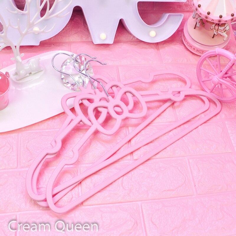 10pieces / lot Oussirro 40cm Pink perchas antideslizantes, centros - Organización y almacenamiento en la casa