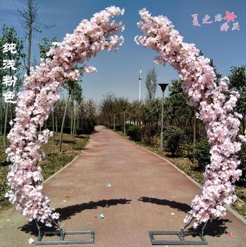 Customized Cherry Blossom Gate Cherry Blossom Road Leads Moon Road Leads Cherry Blossom Arch Frame of Huamen Cherry Blossom фото