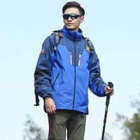 Brand Outdoor Soft Shell Jacket Waterproof Sports Men Windproof Climbing Hiking Clothes Ski Coats Winter Jacket