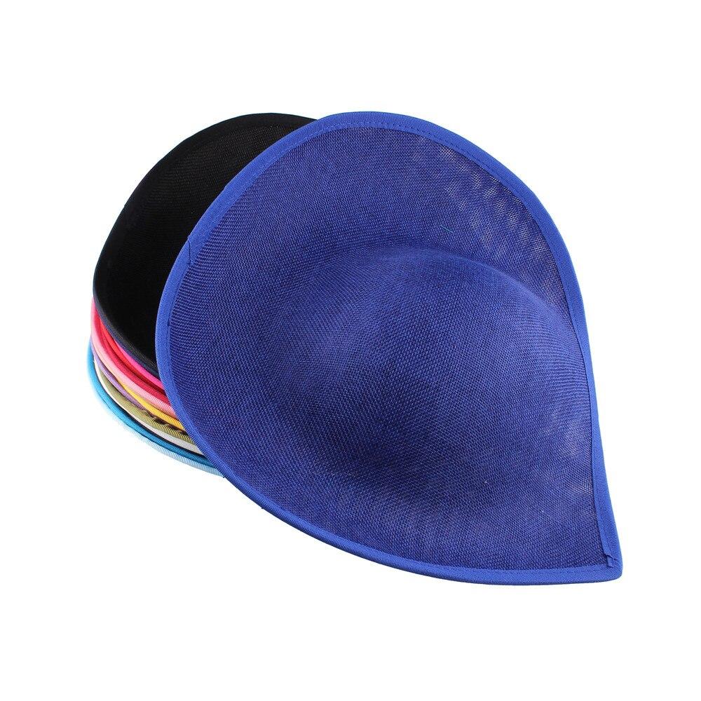 Royal Blue Colors 30cm Fascinators Hat Beses Fashion Wedding Headdress Ladies Millinery Hats Red Hair Accessories 5pcs/lot SYB05