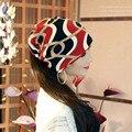 Новое Прибытие Многофункциональный женская Шляпа Шарф Раздели Хип-Хоп Шапочка Весна и Осень Крышки Snapback Женщины Круг Шапочка