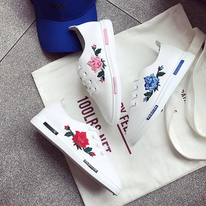 Jolly 2017 3d Bordado de loto Mujeres Zapatos Mujer Primavera Verano Floral Holg