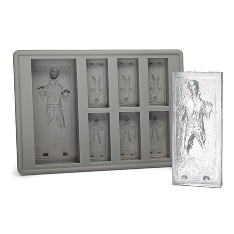 sports shoes d00f8 8cbd6 MOM'S HAND Han Solo In Carbonite Ice Cube Tray