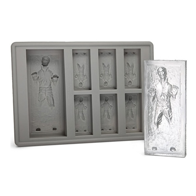 MOM'S HAND Han Solo In Carbonite Ice Cube Tray