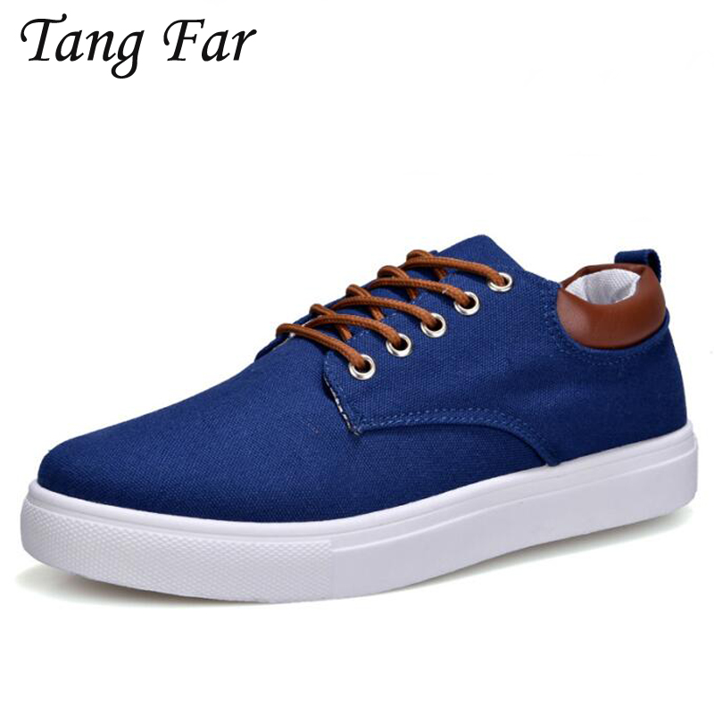 Big Size 47 45 Men Canvas Casual Shoes Khaki Men's Large Size Loafers Breathable Male Lace up Flats Comfortable Sneakers