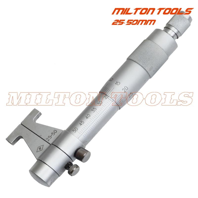 Ratchet Stop Carbide Faces Lock Nut +//-0.004mm Accuracy 0.001mm Graduation Starrett V436.1MXRL-100 Outside Micrometer 75-100mm Range