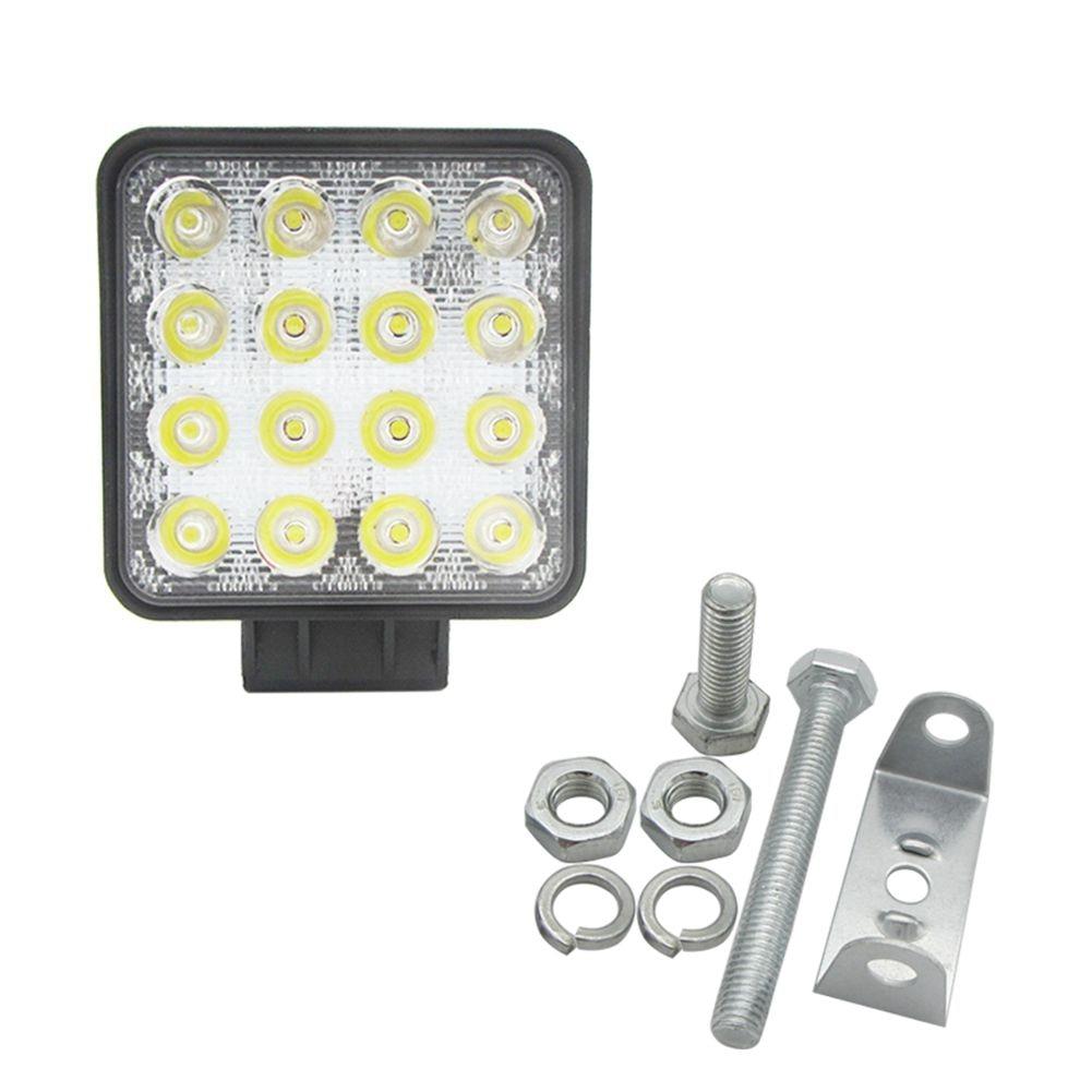 Wholesales Item 48W 6000k LED Spot Beam Square Work Lights Lamp Tractor SUV Truck 4WD 12V 24V