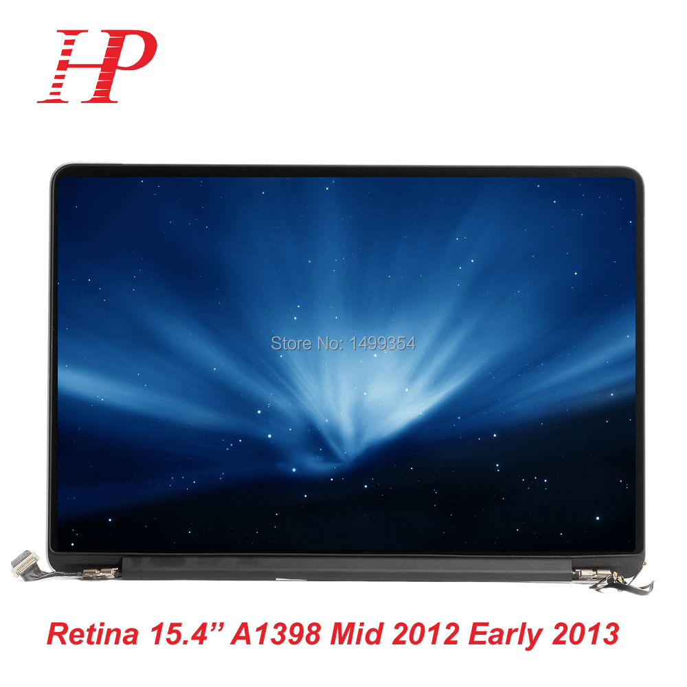 For Apple Late 2013 Mid 2014 For Macbook Pro 15'' A1398 Retina Full LCD Screen Assembly original new for apple macbook pro 15 4 retina a1398 lcd display full assembly replacement late 2013 mid 2014 year