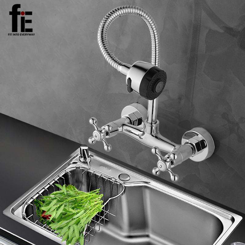 цена на fiE Kitchen Faucet Mixer Cold And Hot Kitchen Tap Single Hole Water Tap Torneira Cozinha