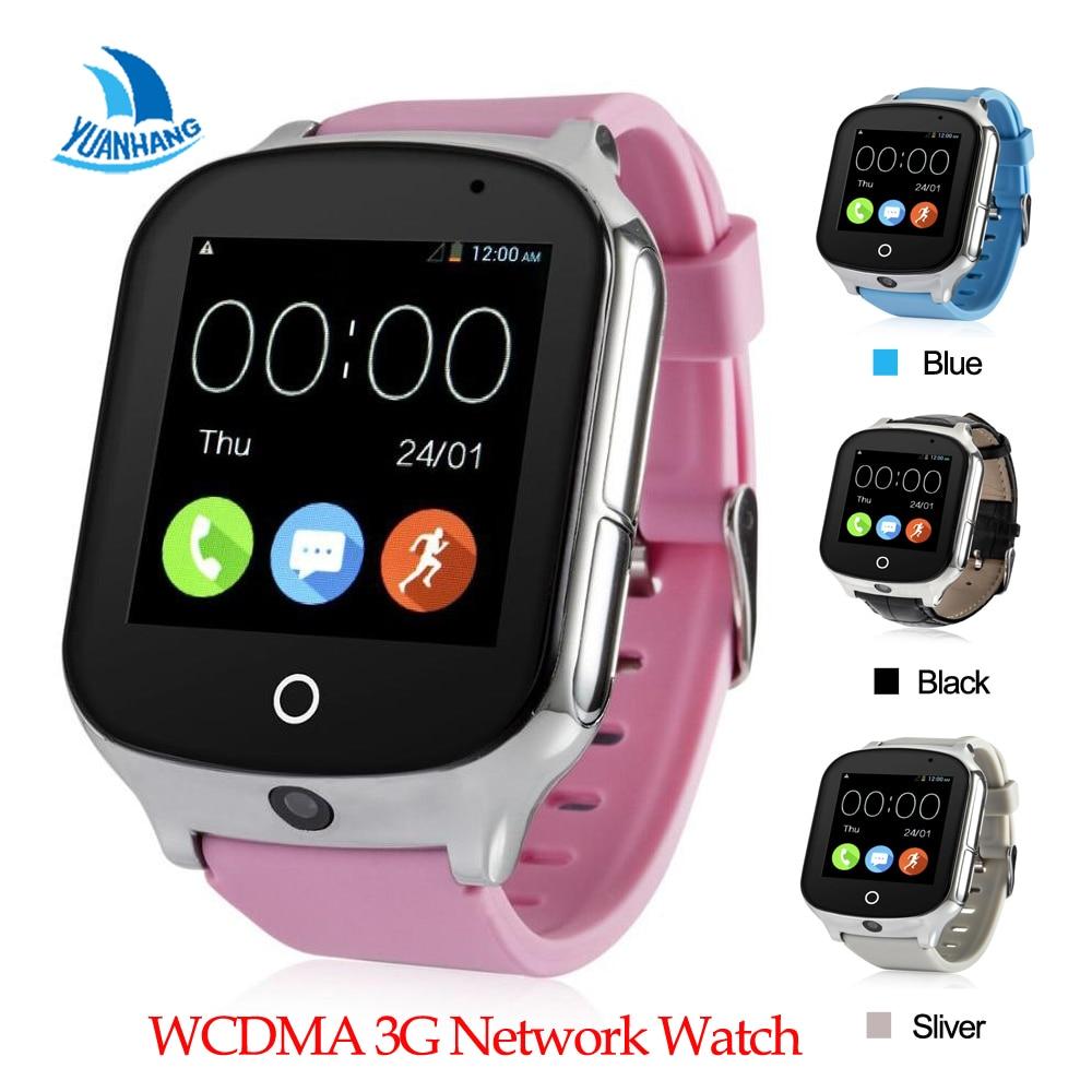 Smart Remote Camera GPS LBS WIFI Location 3G SOS Call Monitor Tracker Alarm Phone Watch Wristwatch for Kid Elder Child Student