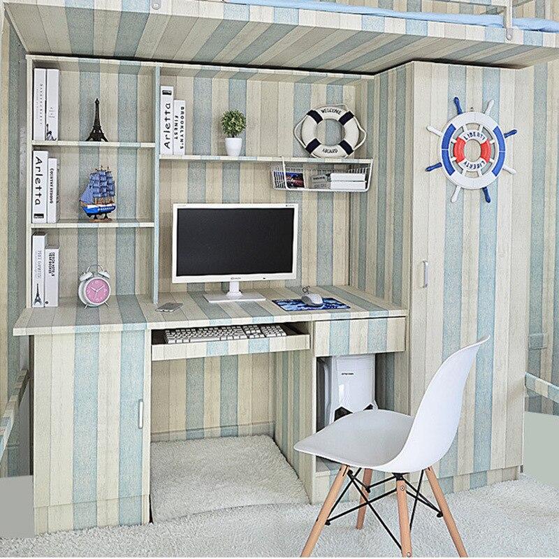US $15.77 39% OFF|Tapeten Youman Selbst Adhesive PVC vinyl Vintage Stripes  Einfache Retro Holz Tapete Küche Wohnzimmer Schlafzimmer DIY Dekor Hause-in  ...