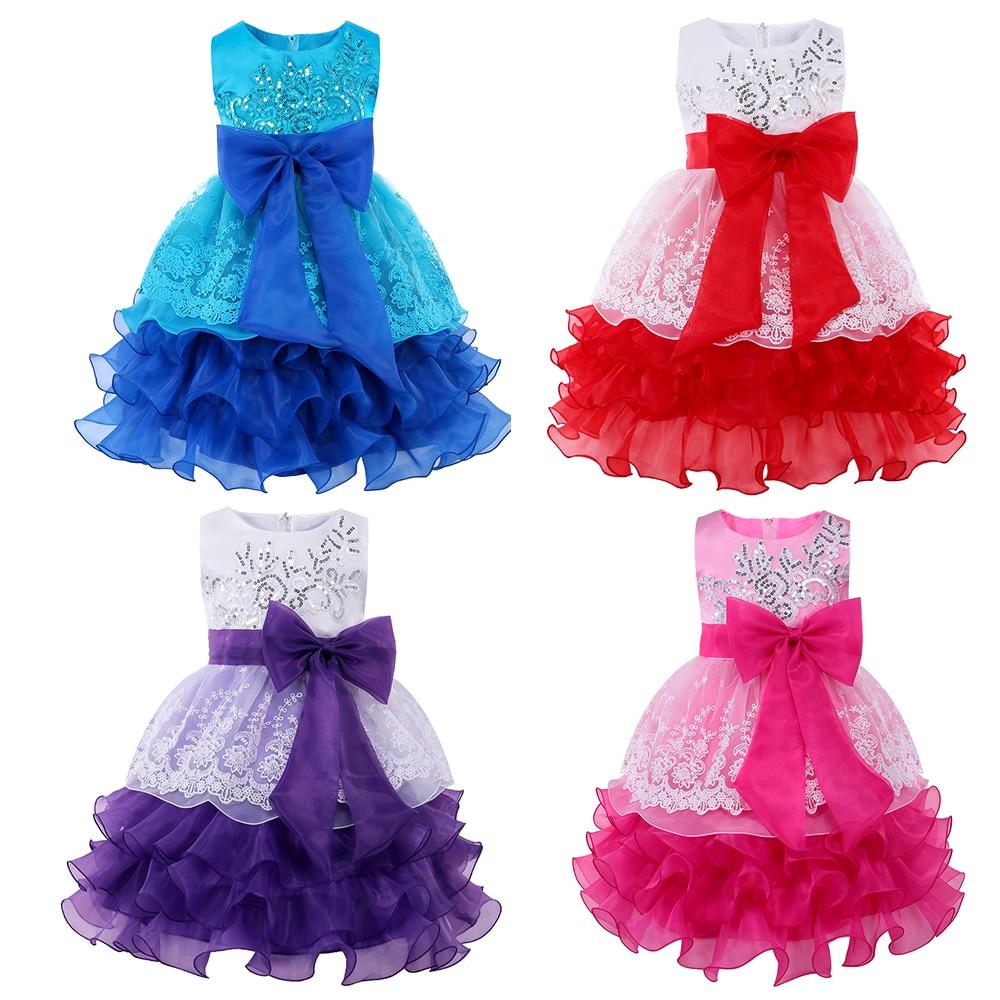 Marca Baby Girl Dress Niños Vestidos para Niñas Trajes de - Disfraces