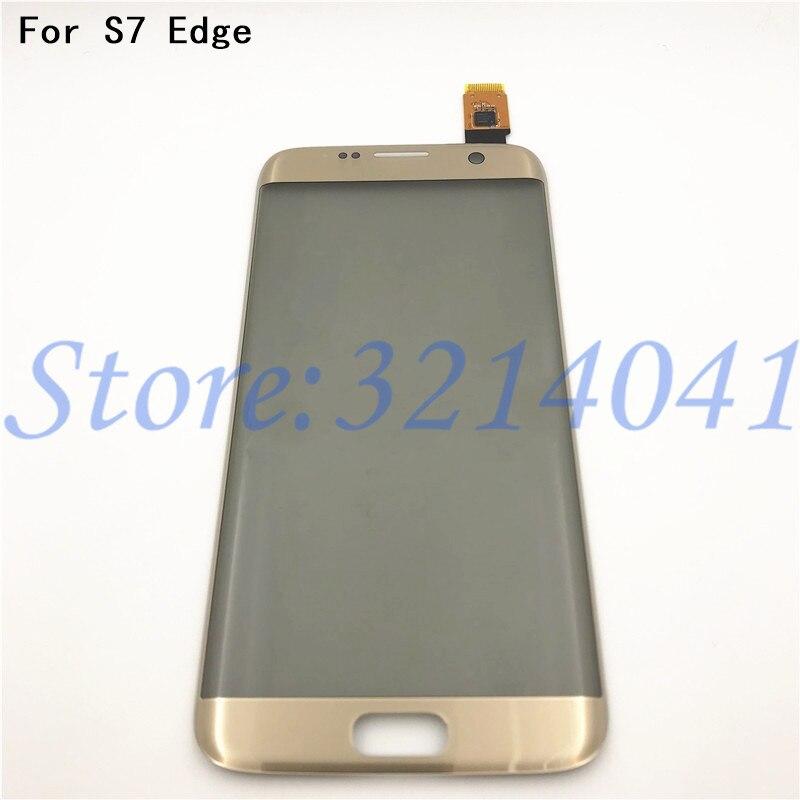 D'origine 5.5 pouces écran Tactile Pour Samsung Galaxy S7 Bord G9350 G935 G935F Écran Tactile Digitizer Capteur Avec Logo