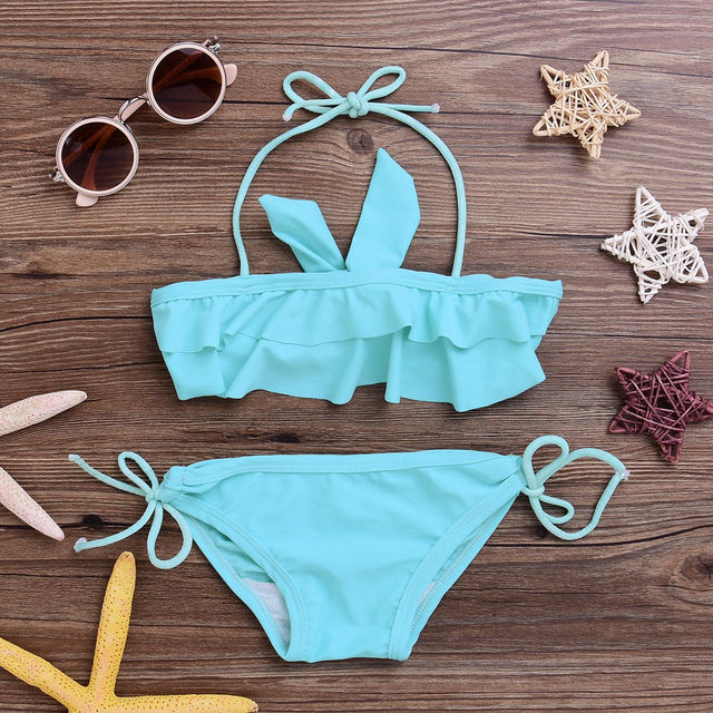 2017 Summer New Newborn Baby Kids Girls Clothes Set Swimwear Bikini Tankini Swimsuit Swimming Costume & 2017 Summer New Newborn Baby Kids Girls Clothes Set Swimwear Bikini ...