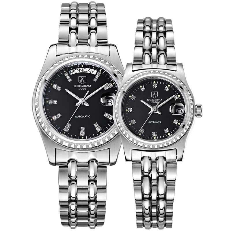 все цены на SEKARO 5068 Switzerland watch women luxury brand automatic mechanical diamond fashion trend ladies waterproof relogio feminino