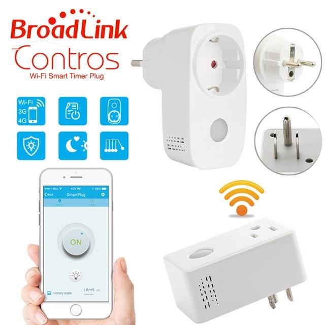Broadlink Smart home 16A+timer EU US wifi power socket plug outlet ...