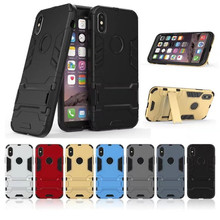 For iPhone x Case Shockproof Armor Rubber Silicone Hard PC Phone Case For iPhone 6 6s Plus 7 or iPhone xr xs max Full Protective стоимость