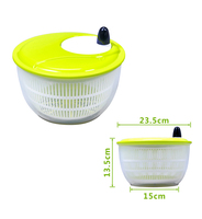 Brand New Salad Lettuce Fruit Vegetable Spinner Strainer Colander Dryer