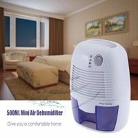 INVITOP Portable Mini XROW 600A Air Dehumidifier Moisture Absorber With 500ML Water Tank For Home Bedroom