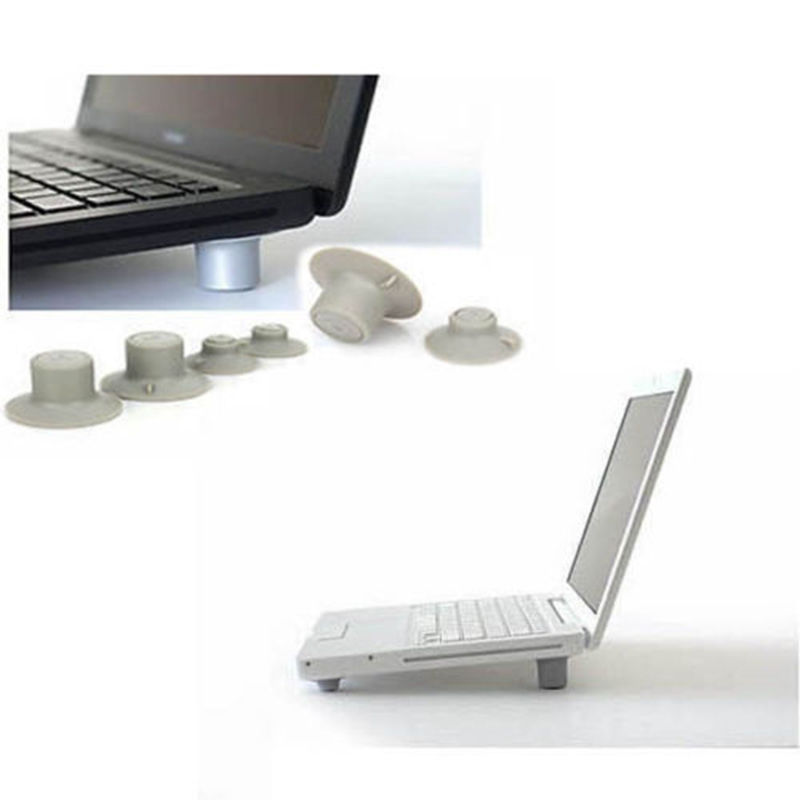 2Pcs Convenient Mini Big + 2Pcs Small Notebook Laptop Cooling Pads Skidproof Pad Cooler Stand Best Selling ...