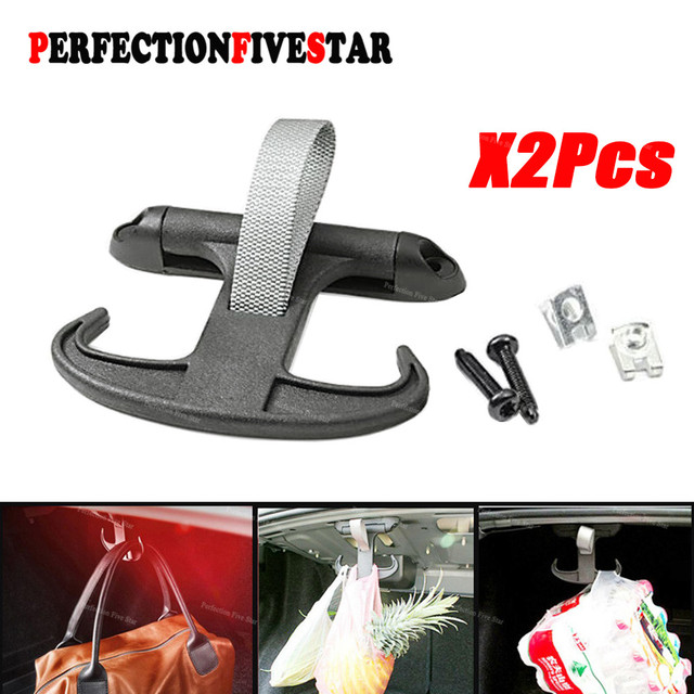 1K5867615 Rear Trunk Bag Hook Cargo Parts For VW Passat B6 B7 B8 CC Jetta octavia Audi A4 S4 A6 Car Boot Tail Gate Hanger Holder