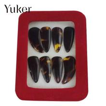 8PCS/Set Guzheng Picks Gu Zheng Nails Fingers With Box Over The Strings Musical Instrument Accessories