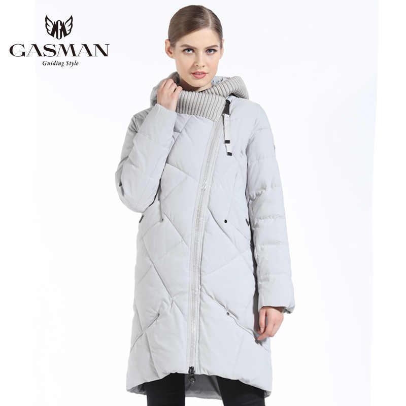 d44b3de4bb5 Detail Feedback Questions about GASMAN 2018 New Winter Collection Fashion  Thick Women Winter Bio Down Jackets Hooded Women Parkas Coats Brand Plus  Size 5XL ...