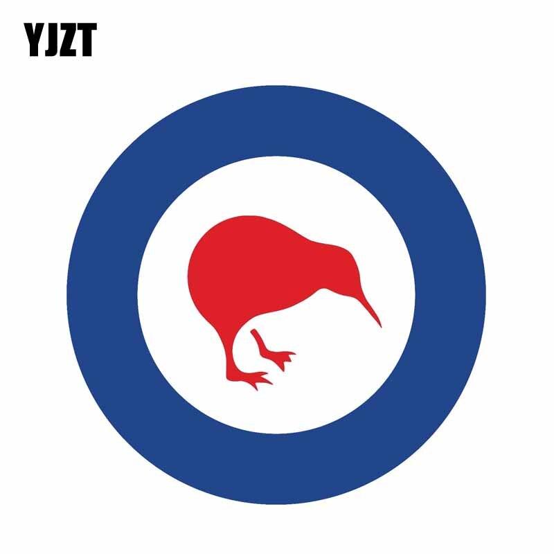 YJZT 12CM*12CM Personalirt New Zealand Air Force Sticker Decal Window PVC Car Sticker 6-2178