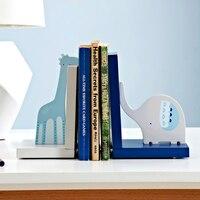 Home Decoratie Merk Kids Boekensteunen Boek Eindigt Plank Houder Hout Boek Stand Gift Voor Kinderen