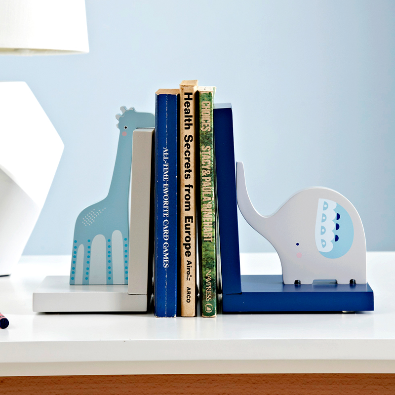 Bookends Book Ends Shelf Holder Wood