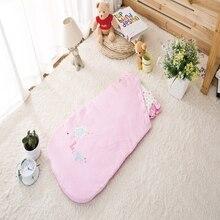 Newborn Sleepsacks Sleeveless Embroider Girl Baby Sleeping Bag Baby Sacks 2016