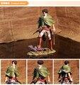 Caliente-venta 1 unids 20 20cmpvc figura Japonesa del anime Ataque en Titán Ackerman Levi figura de acción de colección modelo juguetes brinquedos