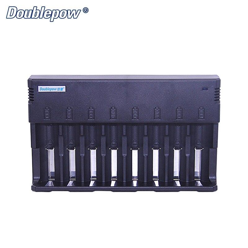 8 слотов Doublepow DP K88 многофункциональное умное быстрое зарядное устройство для 1,2 В AA/AAA/SC/D/C и 3,7 В Li Ion 32650,26650, 18650,14500