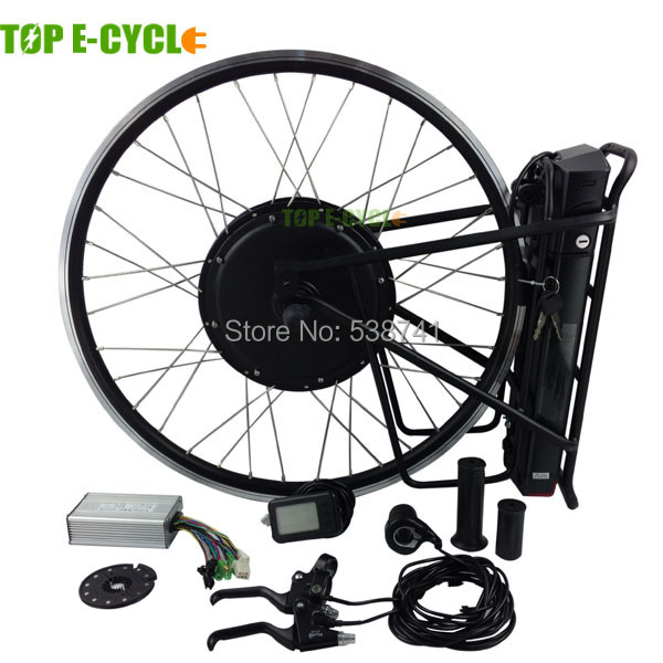 Top e cycle rear 500w direct drive hub motor conversion for Best electric bike motor
