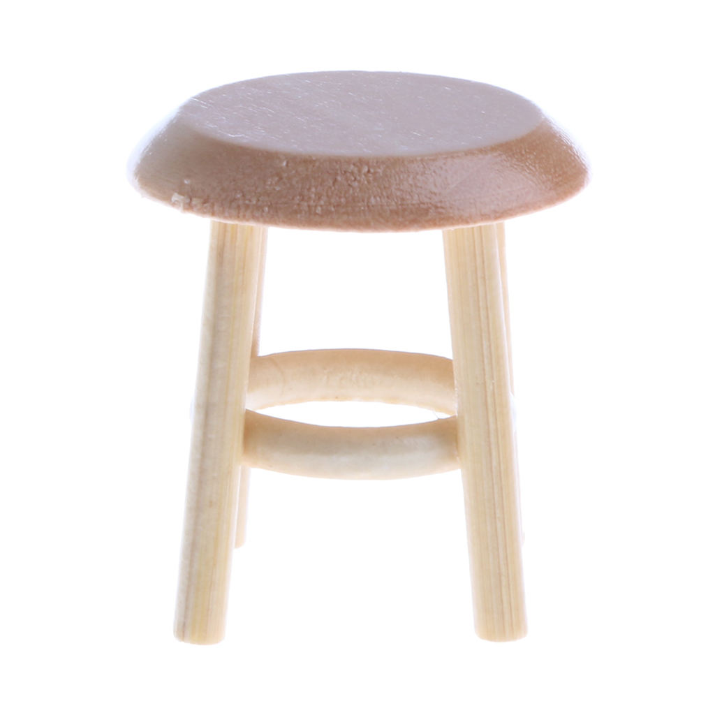 Miraculous Us 2 57 48 Off 1 12 Scale Dollhouse Furniture Miniature Wooden Round Stool 1 12 Dolls House Decor Pretend Classic Toy For Children Dolls Acces In Download Free Architecture Designs Scobabritishbridgeorg