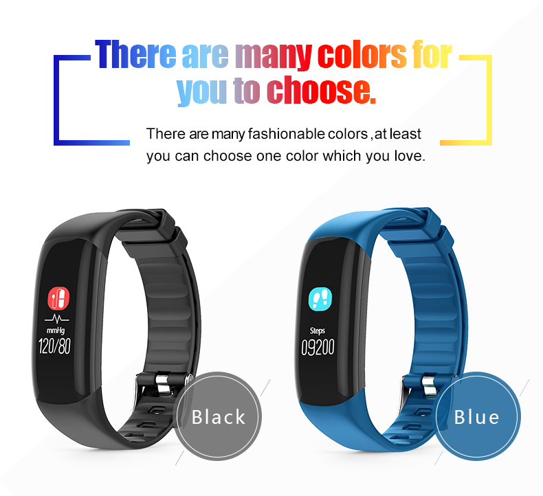 P7 Smart Wristband Bluetooth 4.0 Band Heart Rate Monitor Sport IP67 Waterproof OLED Smartband Bracelet For Android IOS Phone (17)