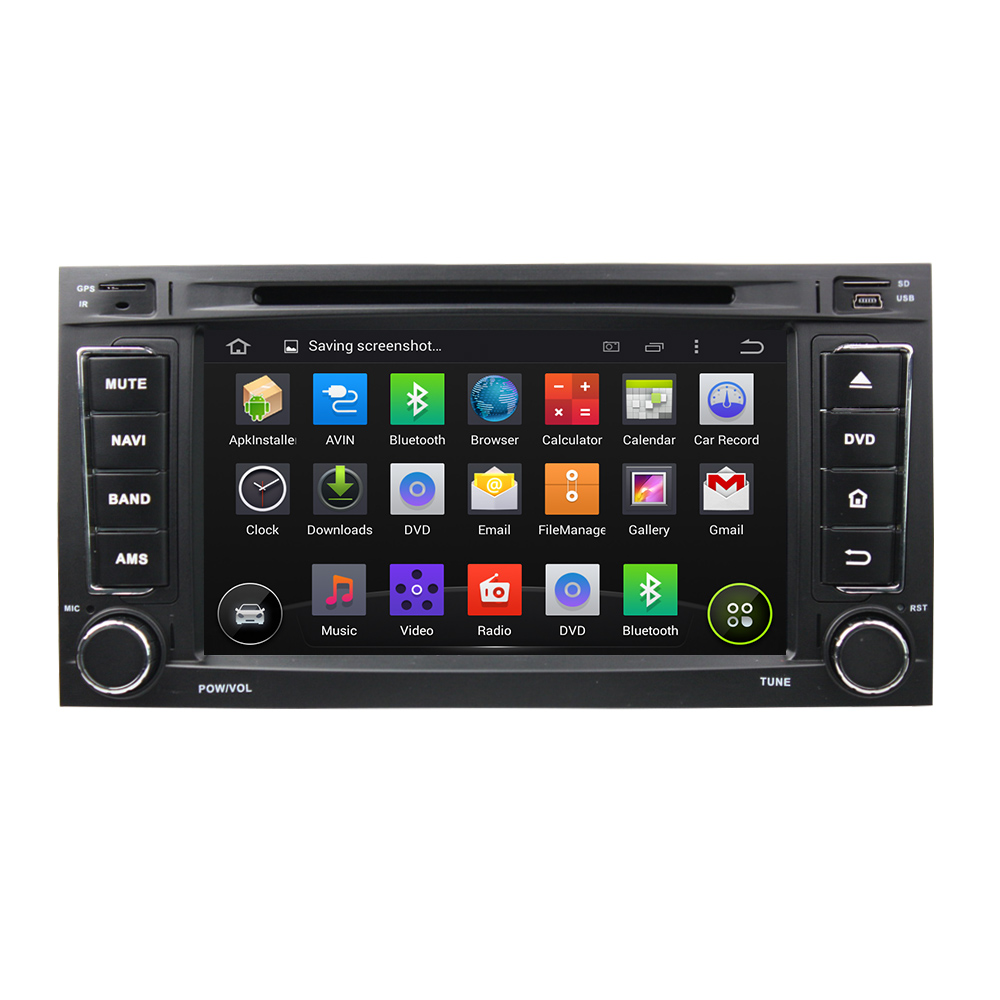 7 Inch Android 5 1 1 Quad Core 1024 600 Car DVD Player GPS For VW